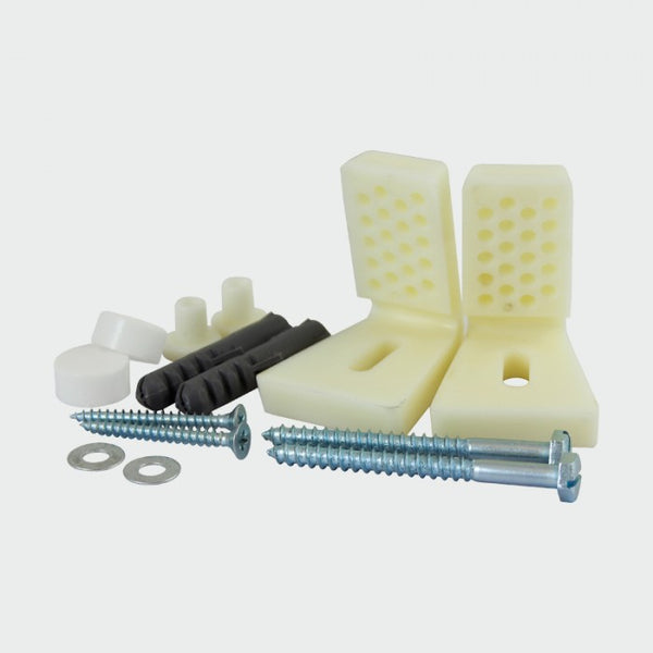 Adjustable WC and Bidet Fixing Kit