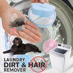Convenient laundry lint and pet hair remover
