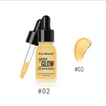 2 in 1 brightening face / eye shadow concealer foundation