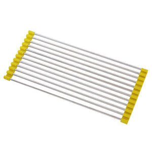 Roll-Up Drying Rack-Kitchen & Dining-skrstar.com-Yellow-