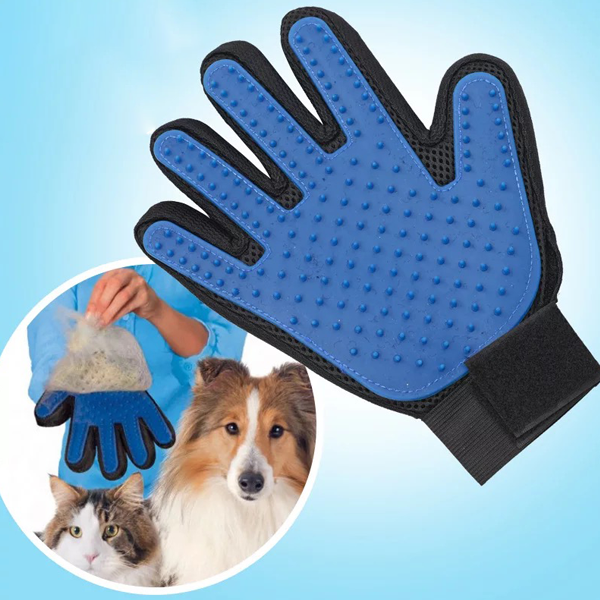 Pet Bathing Massaging Glove