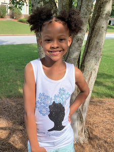 Youth Afro Puff Future Spelmanite
