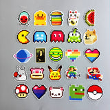 Pixel Vinyl Stickers Decal Collection