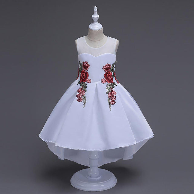 Girls Wedding Dress Easter Princess Kids Dresses Clothes Toddler ...