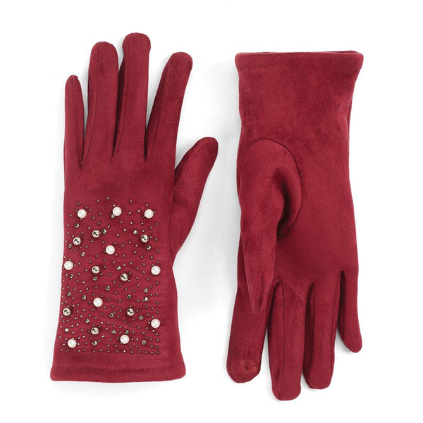 Pearl & Bling Texting Gloves - Lake Norman Gifts