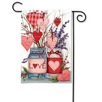 Filled With Love Garden Flag - Lake Norman Gifts