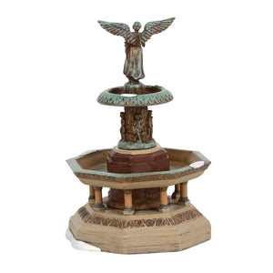 Classic Christmas Bethesda Fountain - Lake Norman Gifts