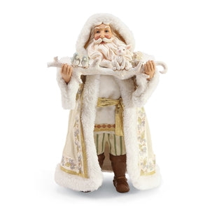 Jim Shore Winter White Santa
