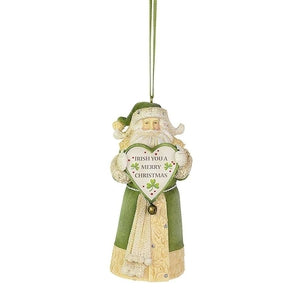Irish Santa Ornament