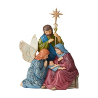 Victorian Holy Family & Angel - Lake Norman Gifts