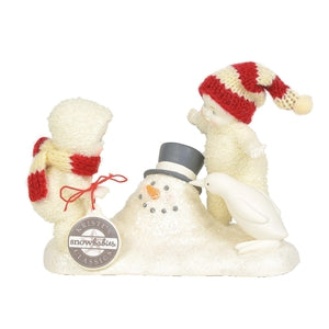 "Snowbabies ""Where Did He Go"" Figurine - Lake Norman Gifts"