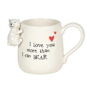 Bear Sculpted Mug - Lake Norman Gifts