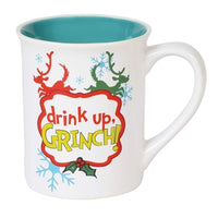 Dr. Seuss The Grinch Drink Up Grinch Mug - Lake Norman Gifts