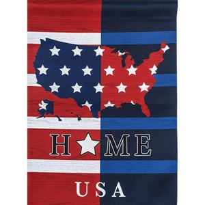 USA Home GardenSuede Flag - Lake Norman Gifts