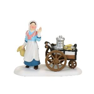 Victorian Milk Maid Figurine Village Accessory, - Lake Norman Gifts