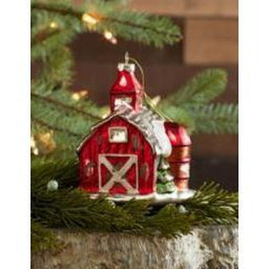 Barn Ornament - Lake Norman Gifts