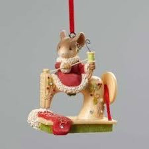 Sewing Machine Hanging ornament - Lake Norman Gifts