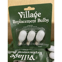 Village replacement bulbs - Lake Norman Gifts