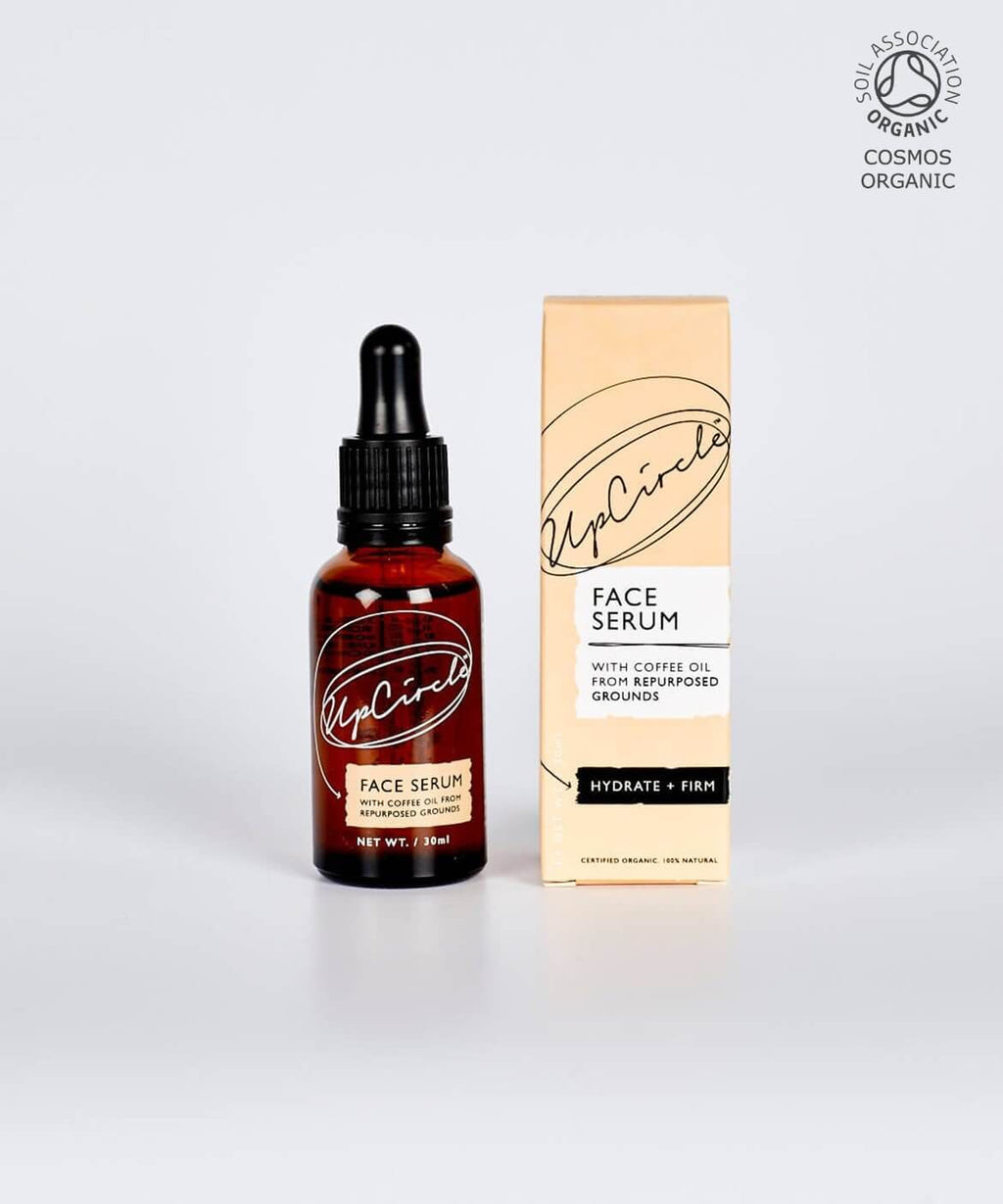 Organic Face Serum with Coffee by UpCircle Face Serum