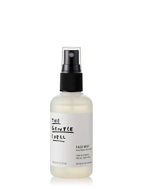 FACE MIST - Rose Water, Witch Hazel by The Gentle Label Face Toner
