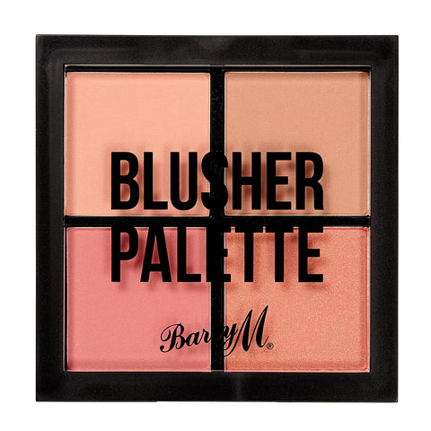 Blusher Quad Palette by Barry M Blusher