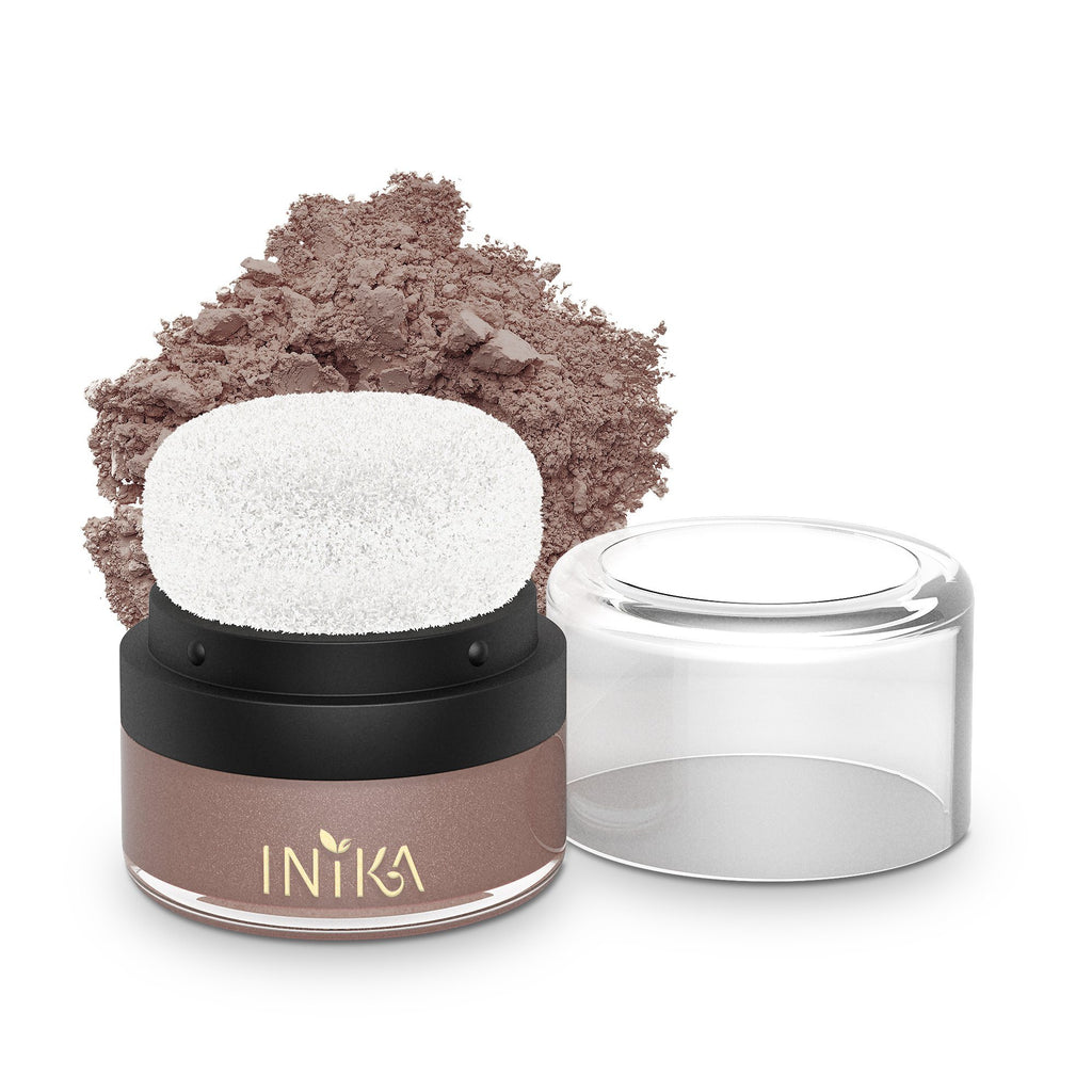 Mineral Blush Puff Pot by INIKA