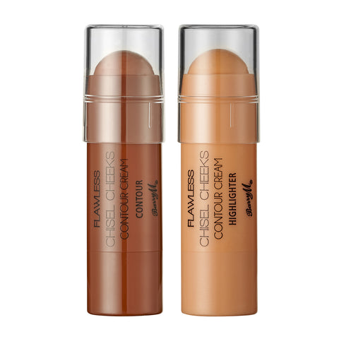 Chisel Cheeks Contour Creams by Barry M Foundation