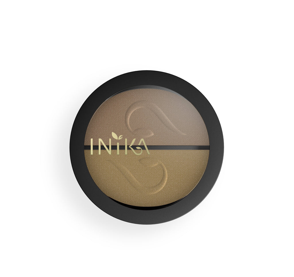 Pressed Mineral Eye Shadow Duo by INIKA