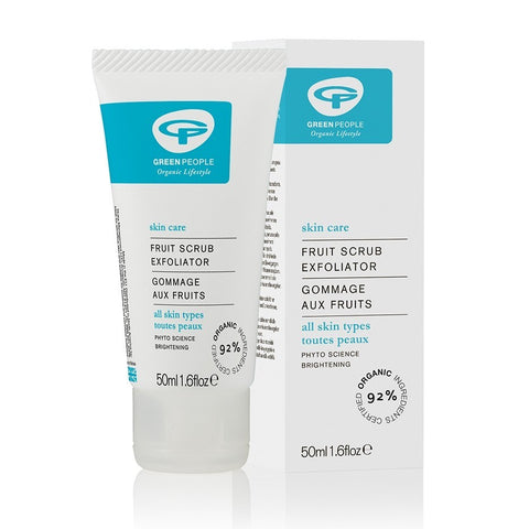 Fruit Scrub Exfoliator by Green People Face Scrub