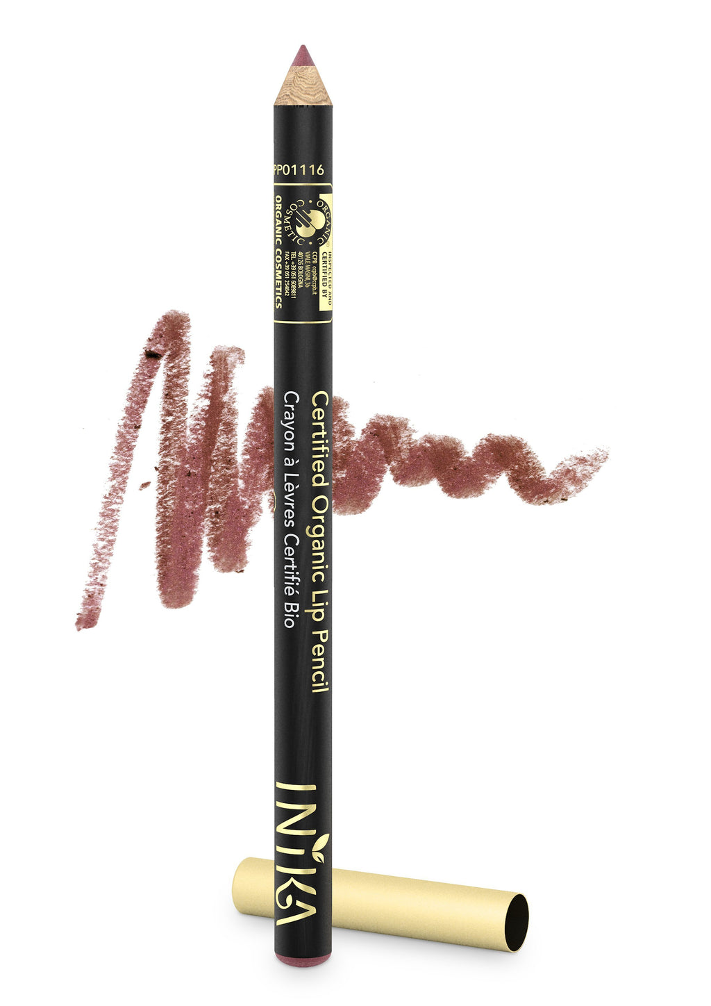 Certified Organic Lip Pencil by INIKA