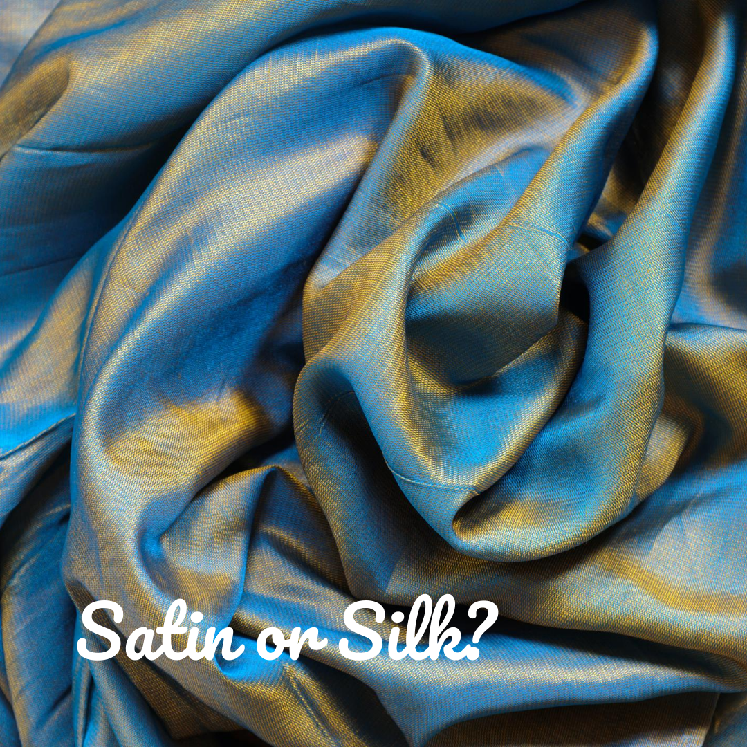This decorative two-tone silk fabric is very decorative and would work well as a headscarf