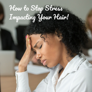 How to Stop Stress Hair Loss