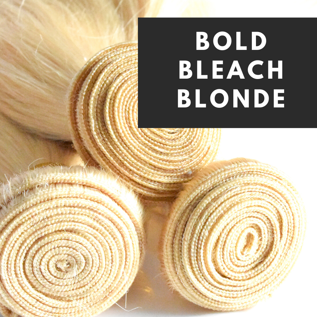 Bold Bleach Blonde 613 Hair Extensions Luxeriva
