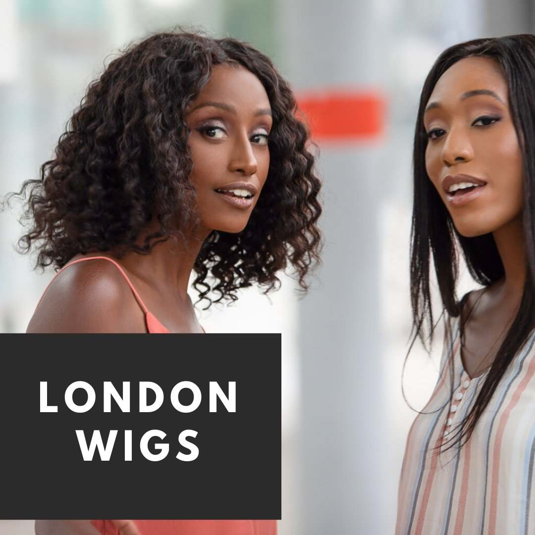 A collection of machine-made human hair wigs for longer lasting wear
