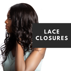 Our expertly crafted lace closures are available in all curl patterns