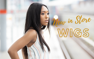Woman wearing straight lace closure wig | Luxeriva Premium Quality Hair Extensions & Wigs