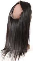 Straight Brazilian hair 360 frontal