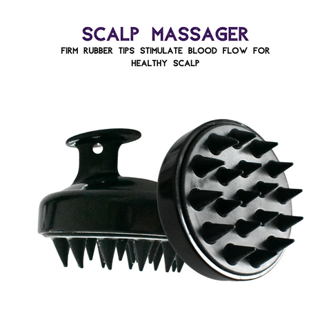 scalp massager brushes enhance scalp stimulation and hair growth