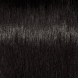 Luxeriva sleek Brazilian hair extensions texture
