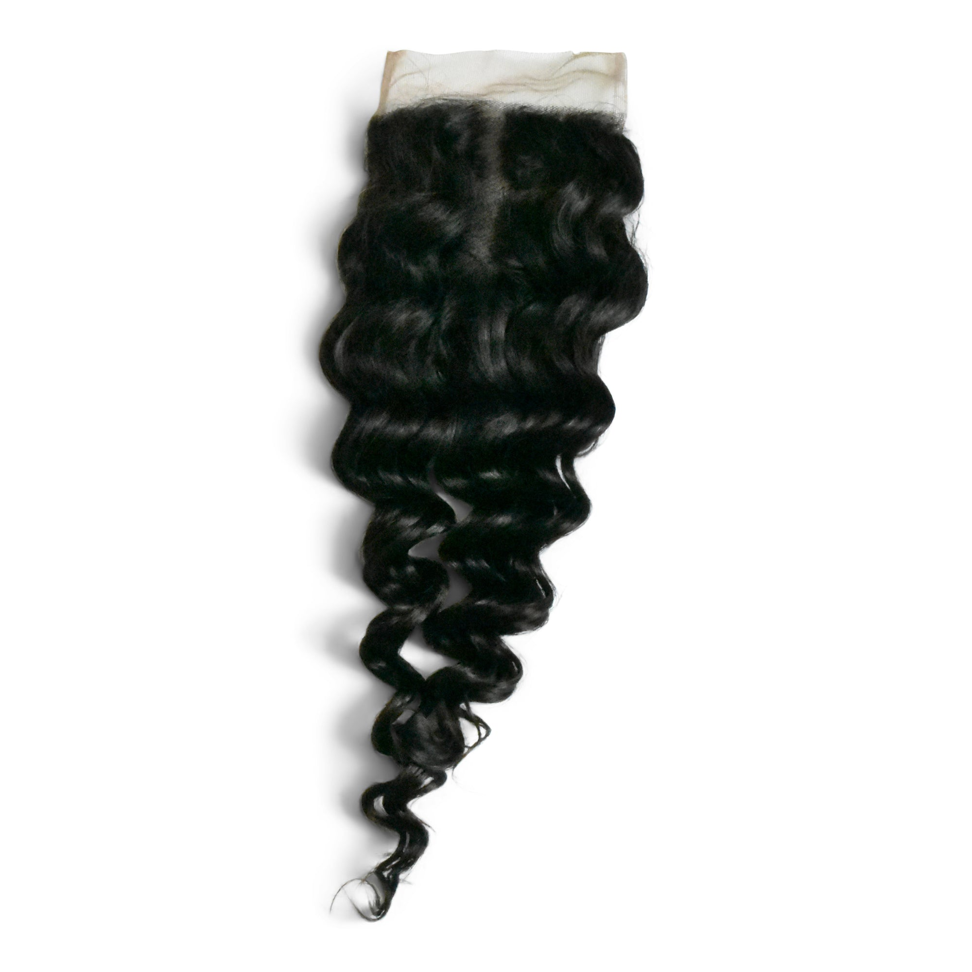 Our deep wave closures are made with premium Luxeriva hair