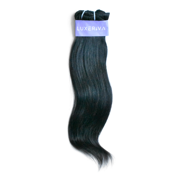 You'll love our straight clip-in hair extensions