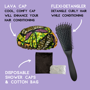 Lava Cap Heat Cap Kit | Tropikara Curly Kids