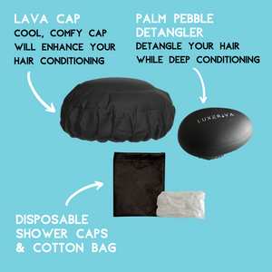 Lava Cap Hot Conditioning Booster Kit | Black Onyx Kids