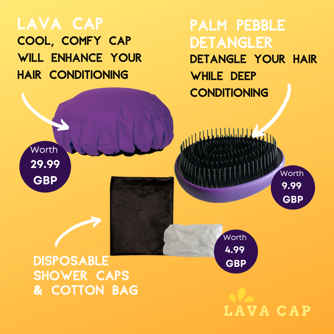 Lava Cap Hot Conditioning Booster Kit | Black Onyx