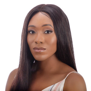 Amina Wig | Sleek Straight | Premium Straight hair | 3 Natural Shades | luxeriva