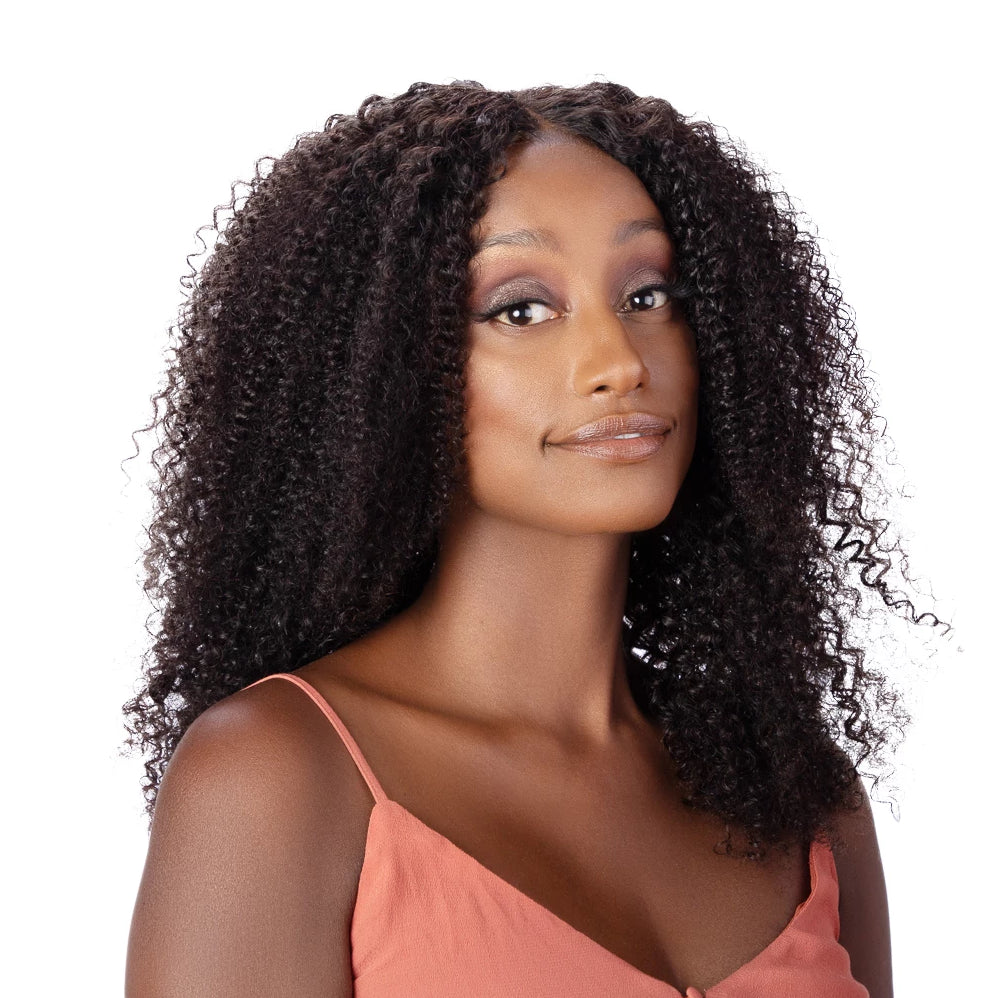 Amina Wig | Curly | Naturally Full Kinky Curly Wig | luxeriva.com