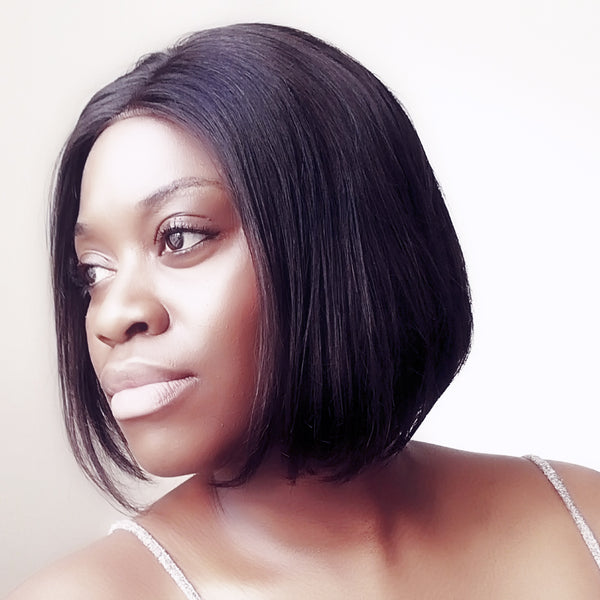 London Boss Wig | Bob Wig | Lace Front Wig | Vanessa Smart Wig | Luxeriva