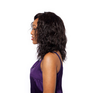 Curl pattern of the deep wave is like a water wave, curls stay defined after washing