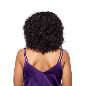 Kinky curly hair gives you a great volume boost and the curl definition looks all-round amazing