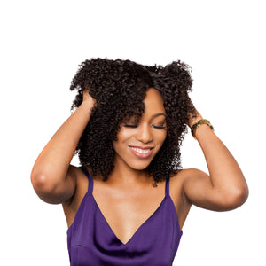 Enjoy the flexibility of a closure weave or wig